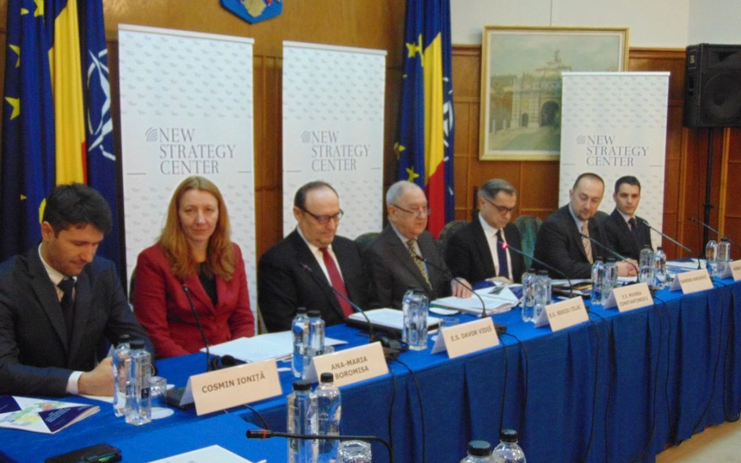"Conference: ""Strategic challenges in the area between the Adriatic and the Black Sea"""