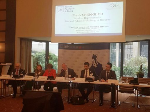 Conference: ''European Union and Western Balkans: Confidence and Continuity''