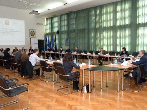 """Održan okrugli stol """"Strateški izazovi u Jugoistočnoj Europi i Crnomorskoj regiji"""""""