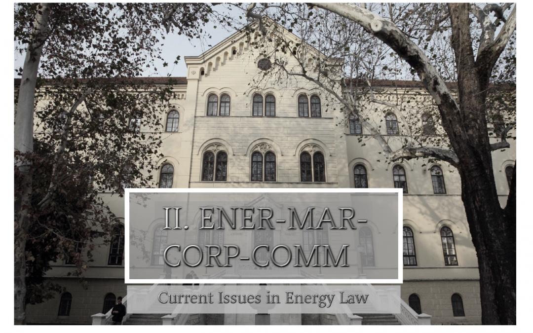 """Konferencija: ''Otvorena pitanja energetskog prava"""""""
