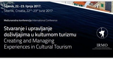 """International conference """"Creating and Managing Experiences in Cultural Tourism"""""""