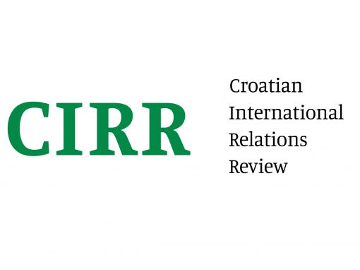 Croatian International Relations Review indexed in ESCI