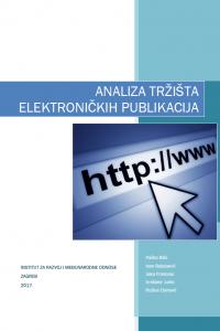 analiza tržišta elektroničkih publikacija