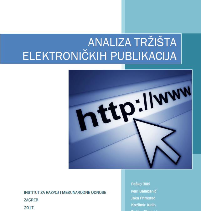 Studija: Analiza tržišta elektroničkih publikacija