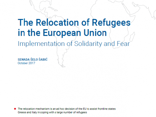 Analiza 'The Relocation of Refugees in the European Union: Implementation of Solidarity and Fear'