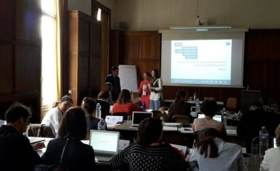 IRMO Associate participated in PONT Career Skills Training in Brussels