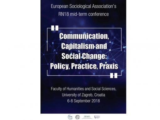 European Sociological Association's (ESA) international conference