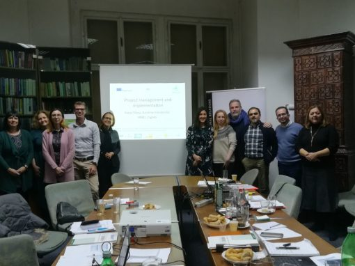 A kick off meeting of the Erasmus + Project BRACKET: Boosting a New and Innovative Training Approach of Key Enabling Technologies