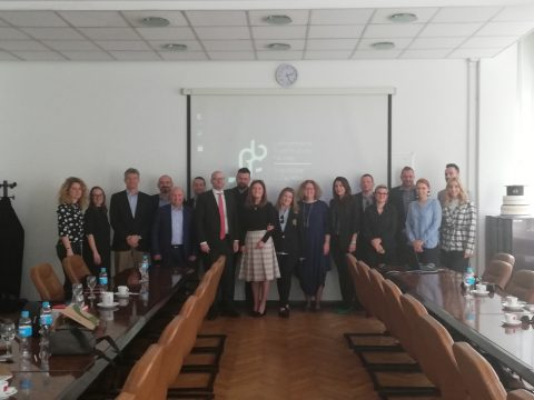 "Presentation of IRMO project ""VET4BioECONOMY"" at the round table ""Development of bio-economy and sector of bio-industry in the Republic of Croatia"""