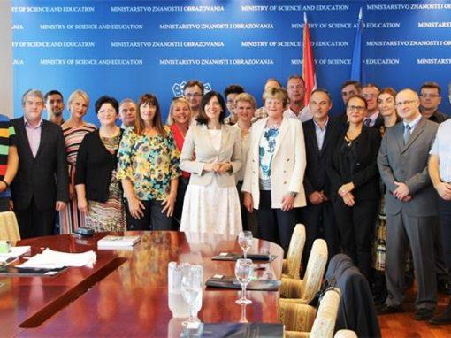Institut i Ministarstvo znanosti i obrazovanja potpisali su ugovor o programskom financiranju znanstvene djelatnosti u 2019. godini
