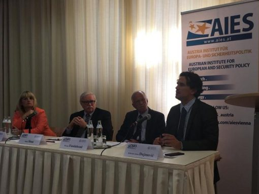 70 years of NATO: IRMO at the panel discussion at the Diplomatic Academy in Vienna