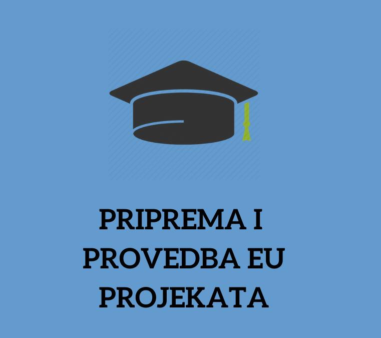 """Natječaj za poslijediplomski specijalistički studij """"Priprema i provedba EU projekata"""""""