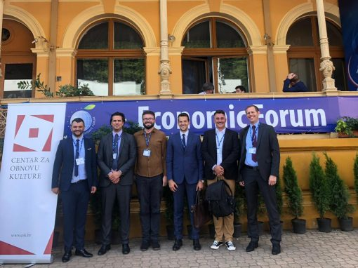 Representatives of IRMO at the Economic Forum in Krynica