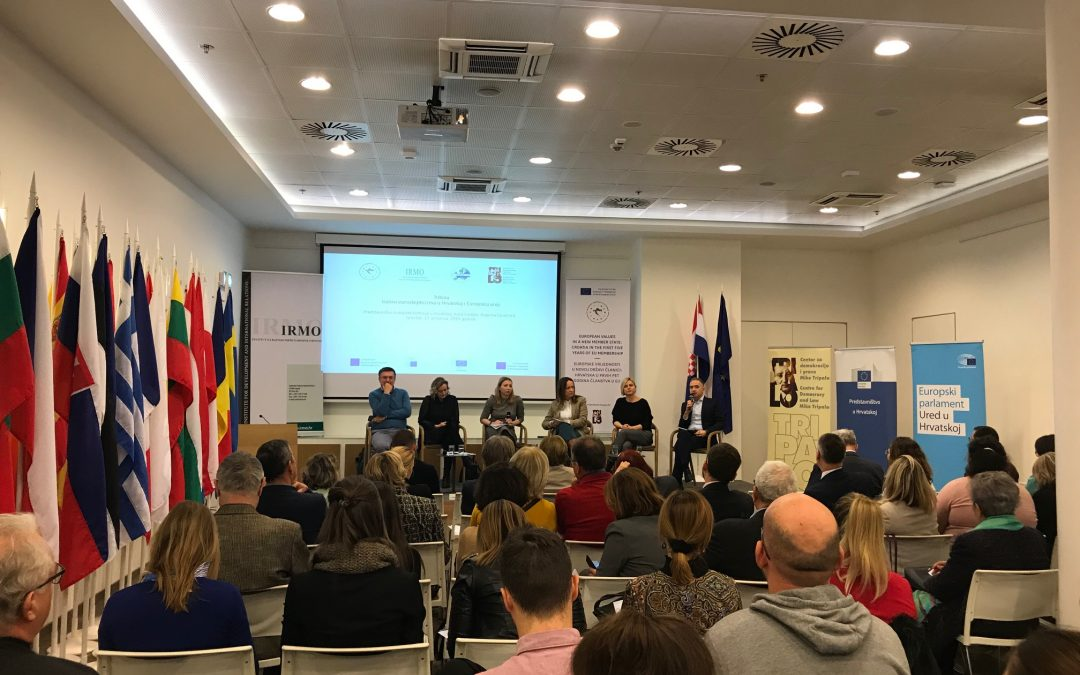 "The town hall meeting ""Challenges of Euroscepticism in Croatia and the European Union"" held"