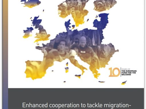"Studija ""Enhanced cooperation to tackle migration – Western Balkans and the Berlin Process"""