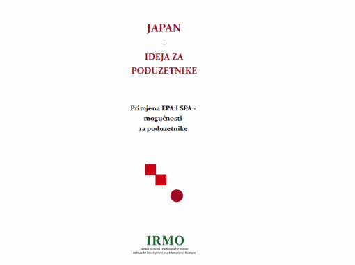 "Objavljena publikacija ""Japan – Ideja za poduzetnike"""