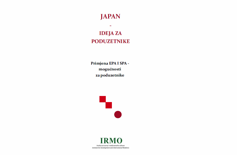 "The publication ""Japan – Idea for Entrepeneurs"" has been published"