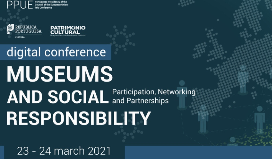 """IRMO participated at the international conference """"Museums and Social Responsibility – Participation, Networking and Partnerships"""" organised within the framework of the  Portuguese Presidency of the Council of the European Union"""