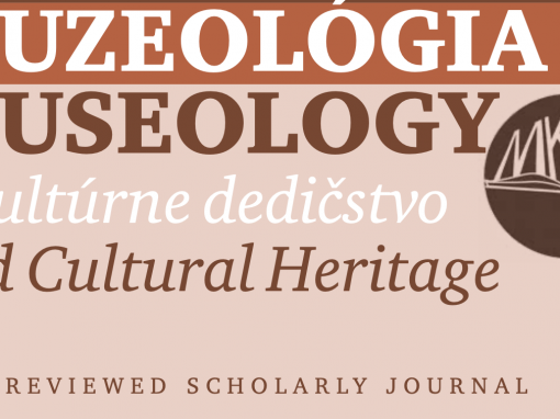 """Article """"Surprise me Softly: The Element of Surprise in Designing Museum Experiences"""" published in the Muzeológia a kultúrne dedičstvo (Museology and Cultural Heritage) journal"""