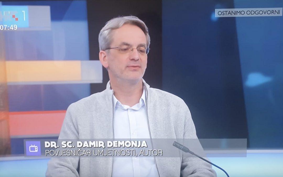 """Damir Demonja gost u mozaičnoj emisiji """"Dobro jutro, Hrvatska"""""""