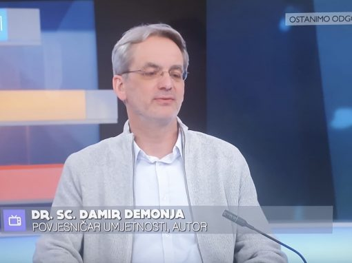 "Damir Demonja guest in the mosaic show ""Dobro jutro, Hrvatska"""