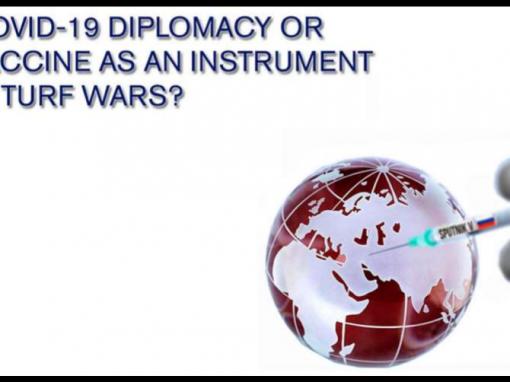 Objavljen izvještaj: COVID-19 diplomacija ili cjepivo kao instrument u ratovima za teritorij