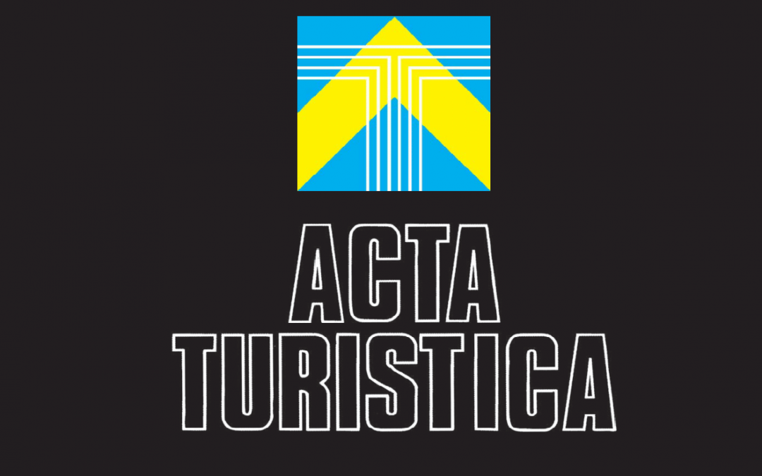 """Daniela Angelina Jelinčić and Marta Šveb published the article """"Visual Stimuli Cues with Impact on Emotions in Cultural Tourism Experience Design"""" in the Acta turistica journal"""