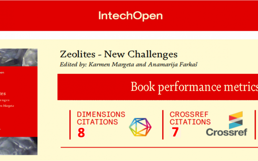 "New book entitled ""Zeolites-New Challenges"""