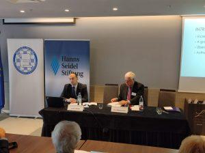 "Sandro Knezović sudjelovao na konferenciji ""Joint Seminar on European Integration Processes"""